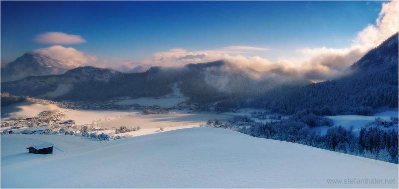 Thiersee, Vorderthiersee, Winter,