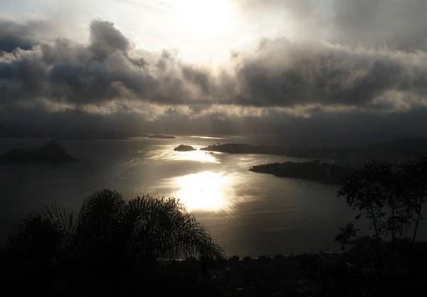 Landscape of Rio de Janeiro from Niteroi