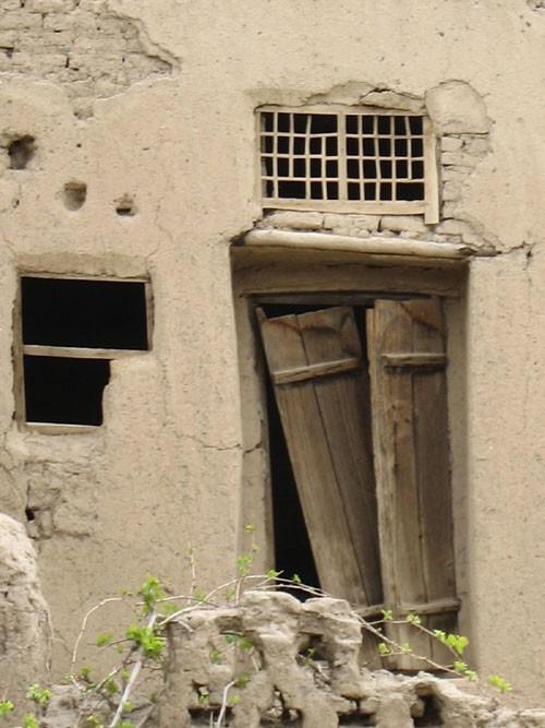 The memories lie behind this broken window!
