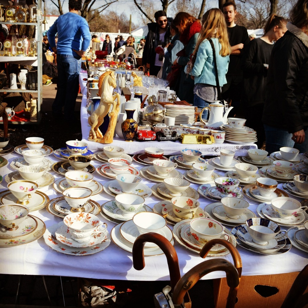 Sunday market, Berlin