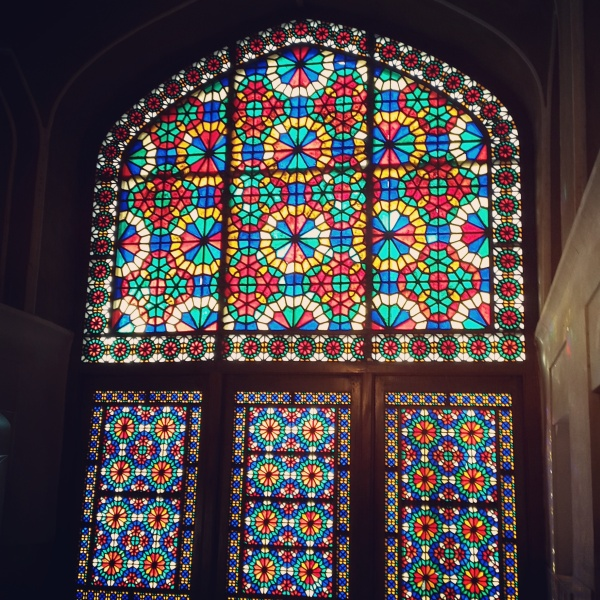memories colorful home window persian architecture