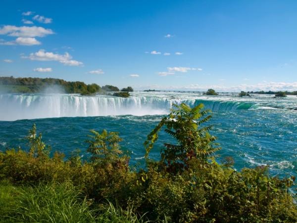 The brink of Horseshoe Falls