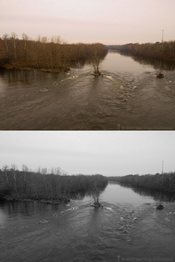 Lehigh River Dam