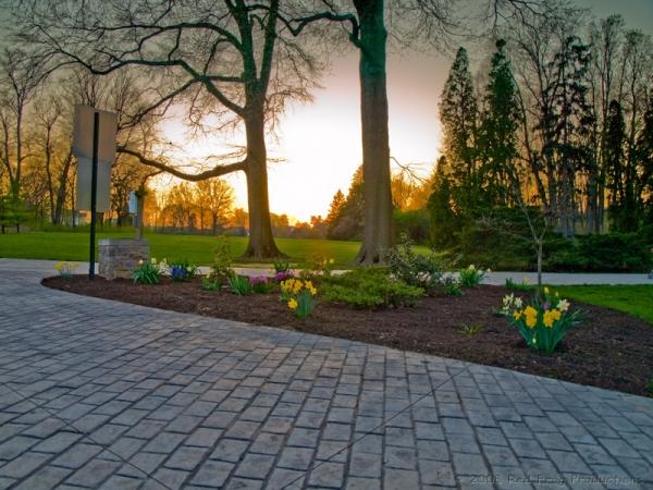 Sunset at Trexler Park