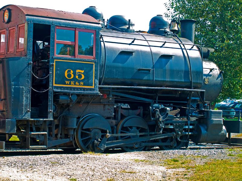 0-3-0 Steam Locomotive