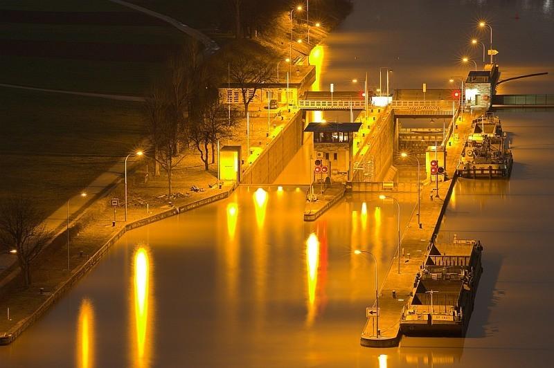 The River Neckar near Poppenweiler
