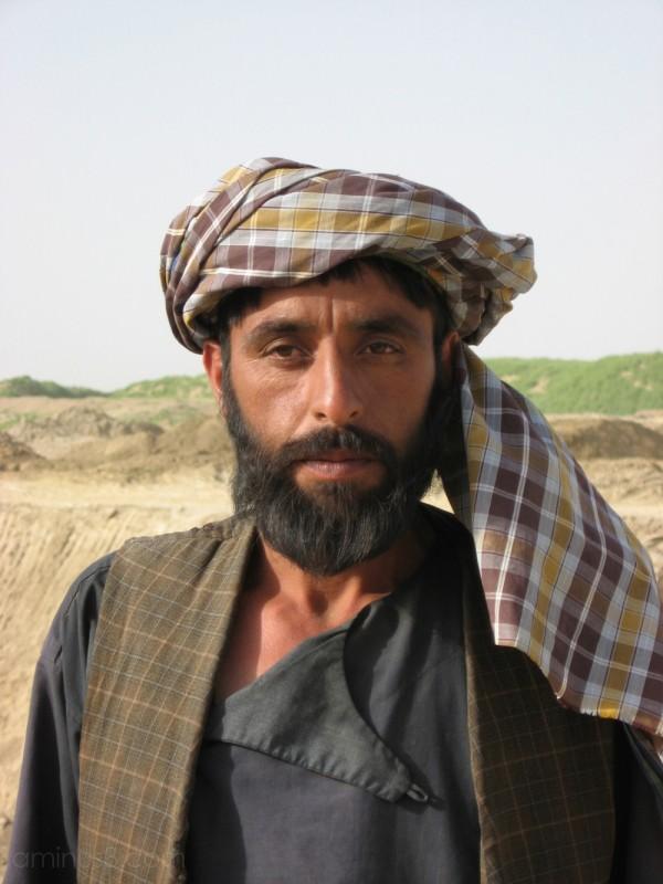 Pashtun farmer