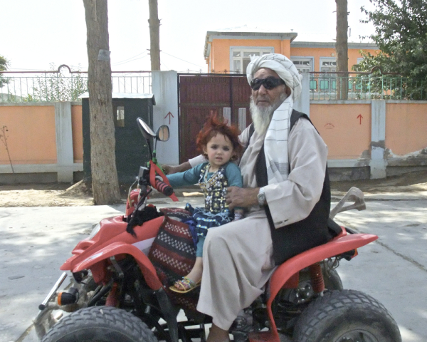 Afghanistan motorcycle grandfather