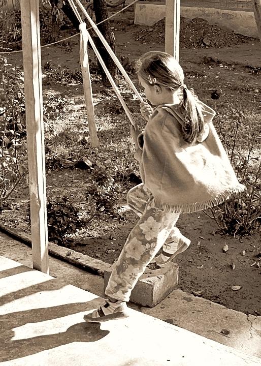 Swinging in Mazar
