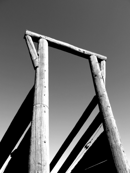 Weathered cattle chute - Colorado