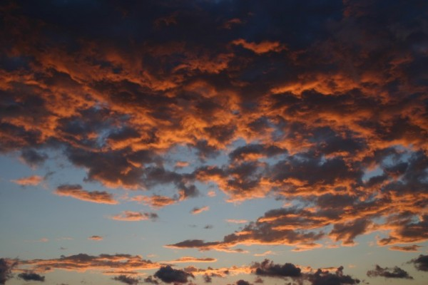 The lovely North Carolina coast at sunset