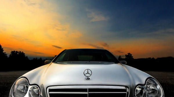 Mercedes Sunset