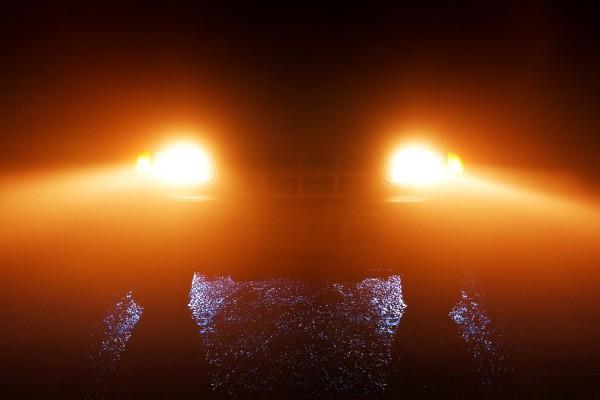 My Truck in Fog
