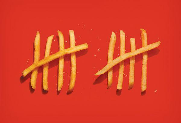 My Fries Ad Photo