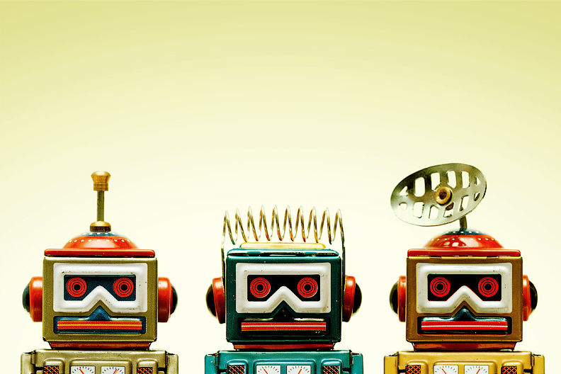 My New Robots!