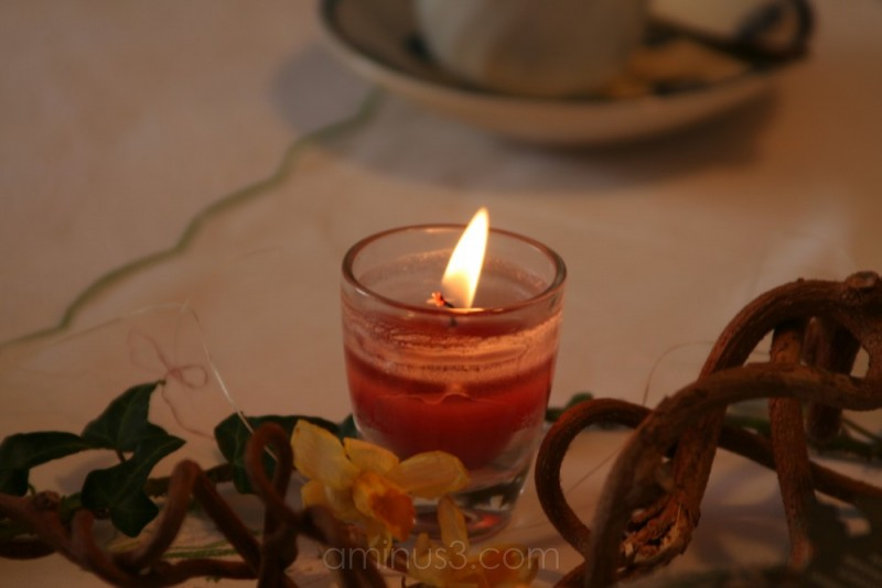 candle - not in the wind :-)