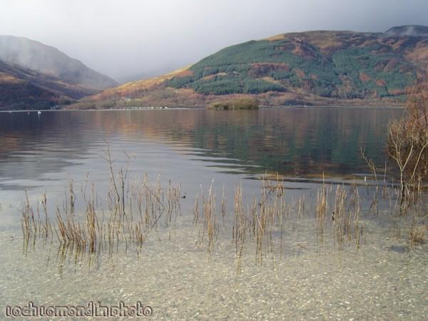 Viewing the isle of Eilean nan Deargannan