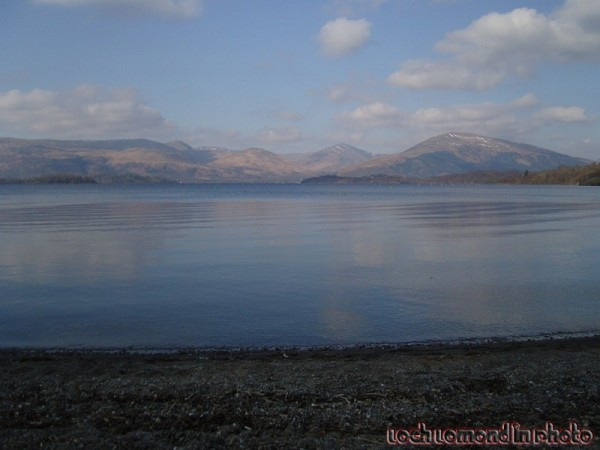 Clear Day over Loch Lomond.