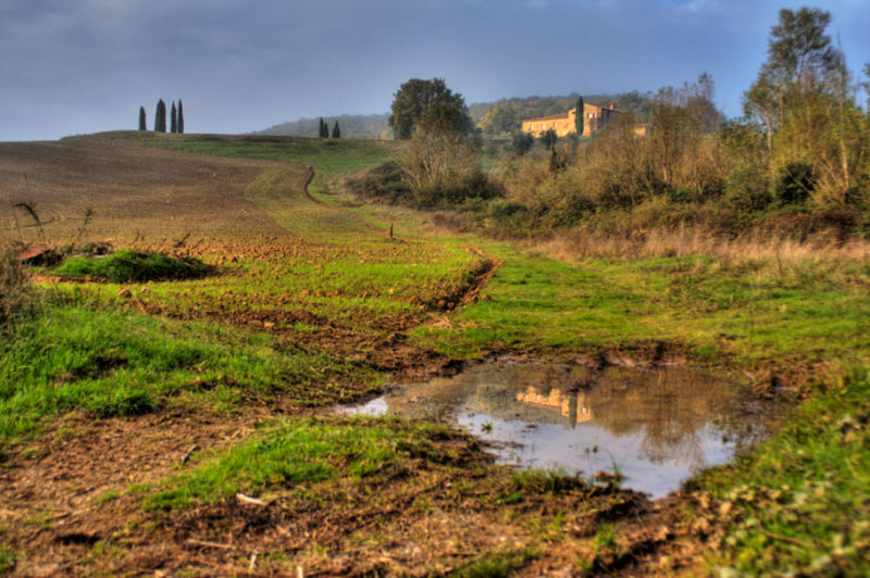 HDR in Tuscany