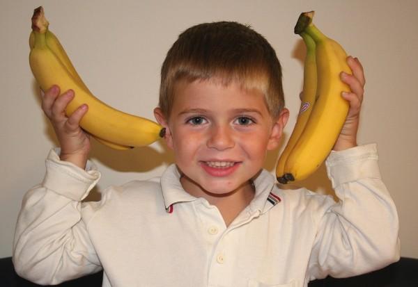 wir machen eine Bananenschnitte :-))
