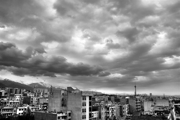 HDR, Tehran, Iran, Milad Tower