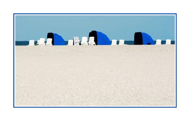 blue huts