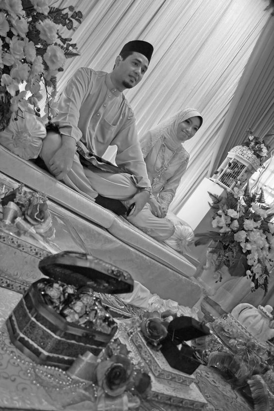 Engagement B&W 2