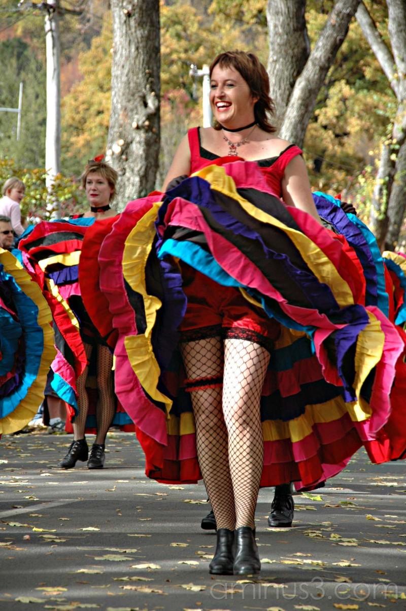 Autumn festival parade in Arrowtown