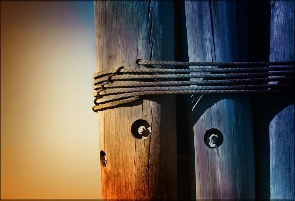 Wood & Rope & Sun