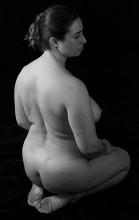 People - Kneeling woman