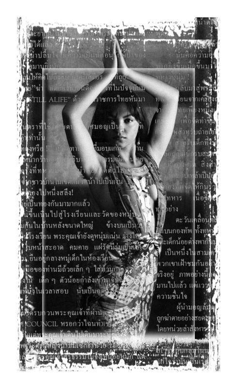 Etnica Retrato Mujer Asia