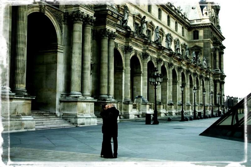 Amour Romantique Paris France