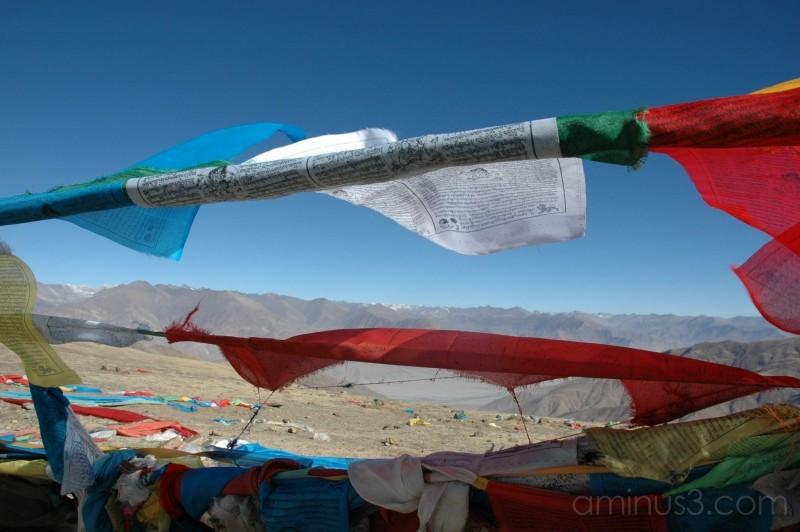 Prayer Flags: Gamta Pass, Tibet