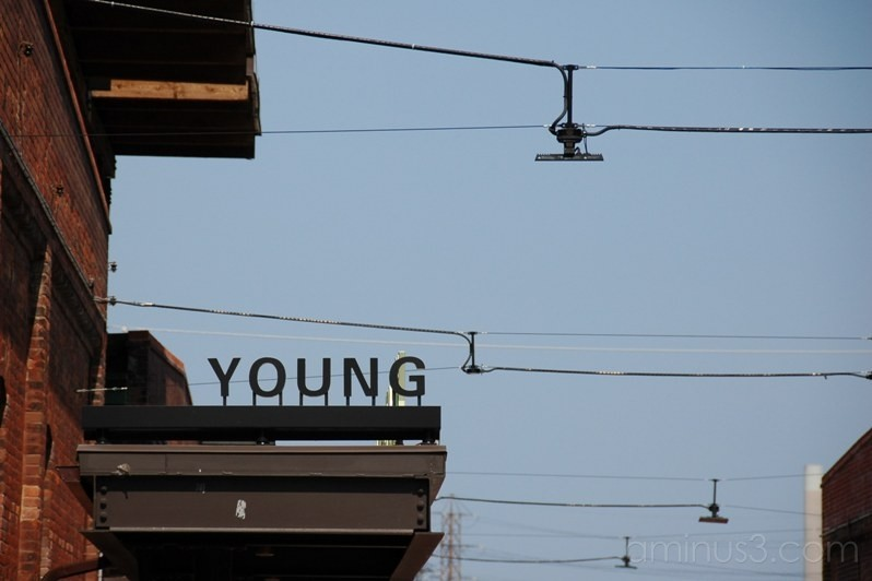 Young - Distillery District Toronto Canada