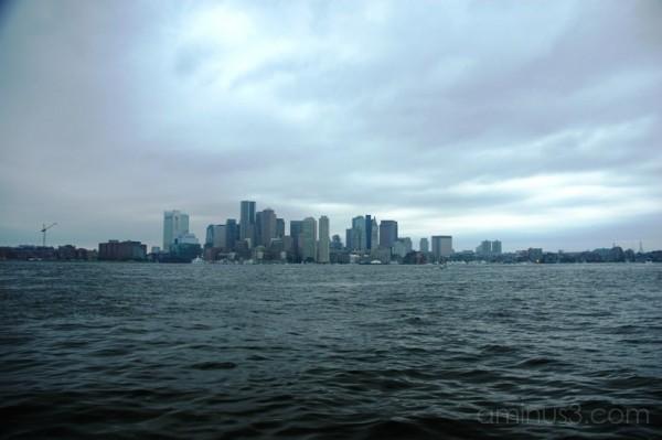 Brewing Storm, Boston Massachusetts USA