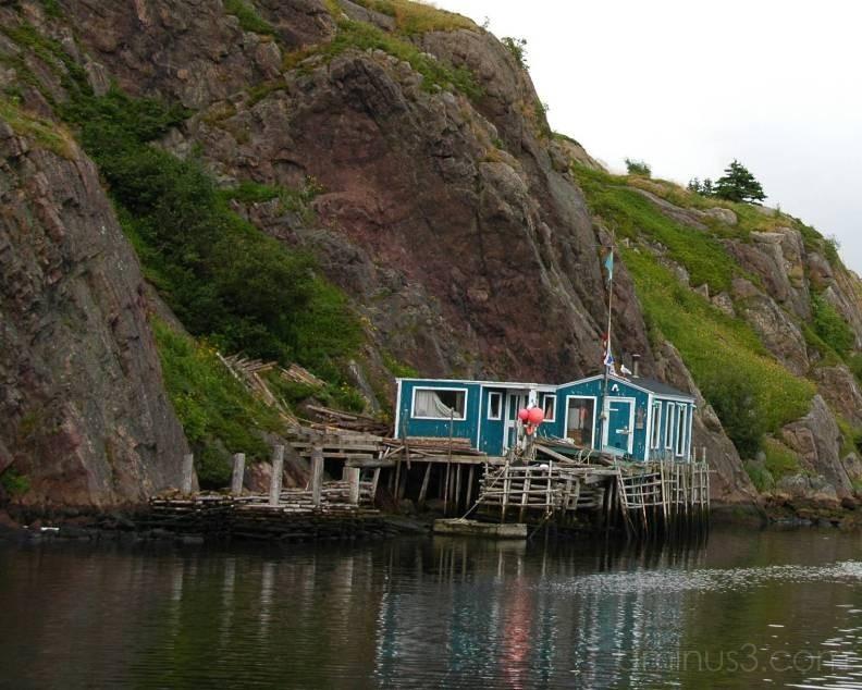 Fishing Shack Quidi Vidi Newfoundland Canada