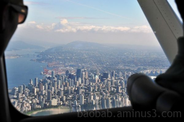 Vancouver from the seaplane