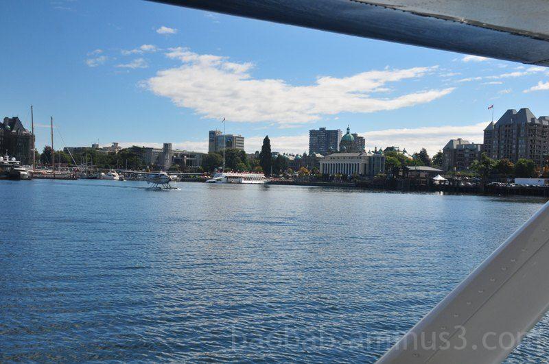 Seaplane V: Landing in Victoria BC