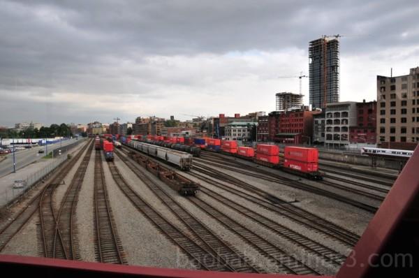 Vancouver Rail Yard