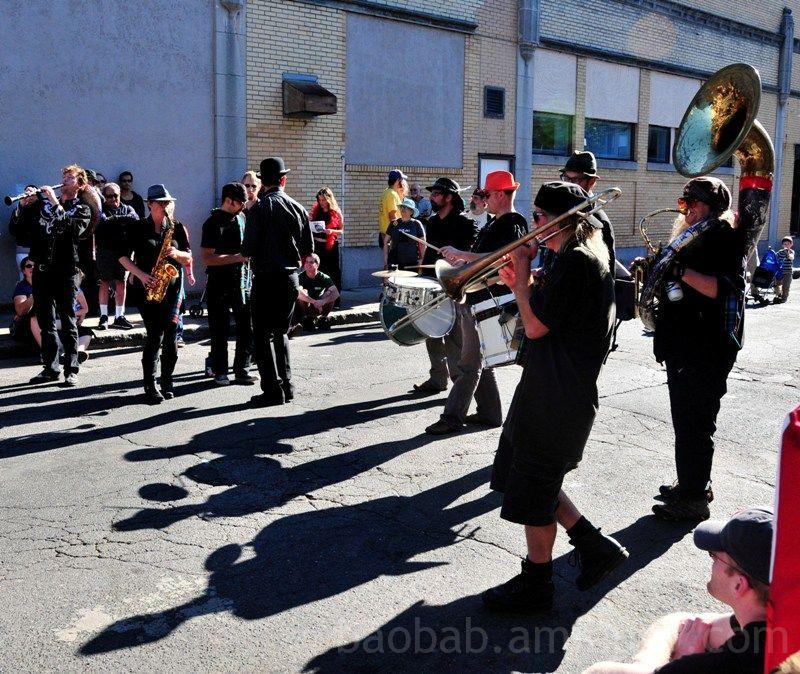 Brass Messengers at Honk! Festival 2008