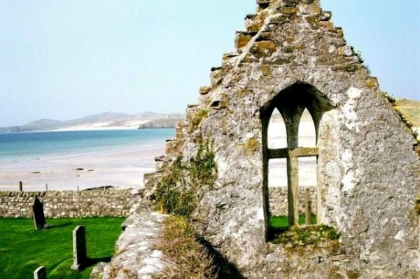 ruins at durness