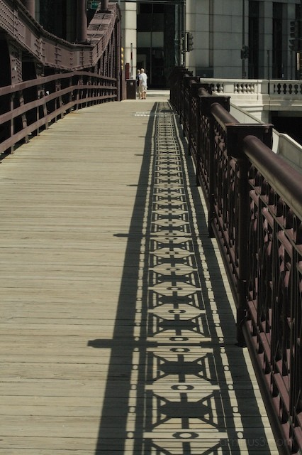 Franklin Street Bridge on the Chicago River