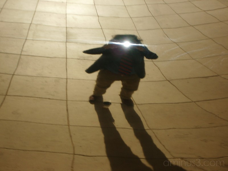 Self Portrait in Cloud Gate