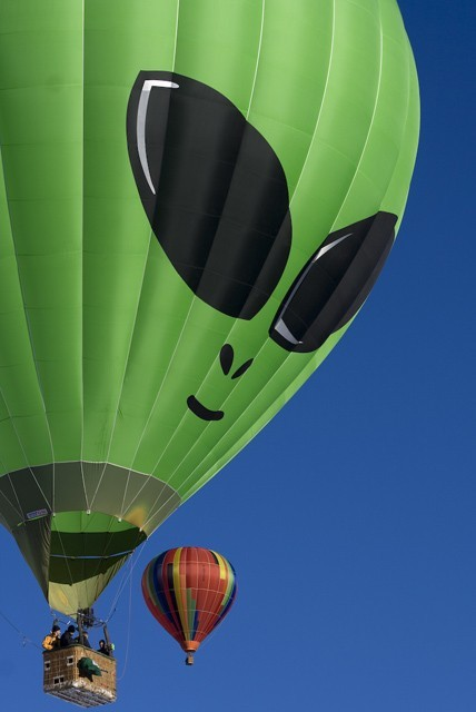 Alien Balloon