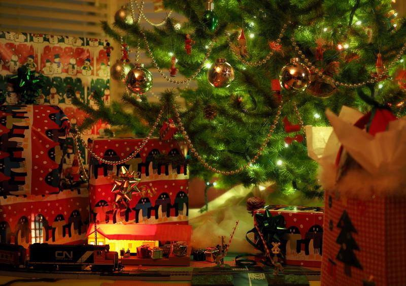 le Père Noël est passé ! - Santa's been here!