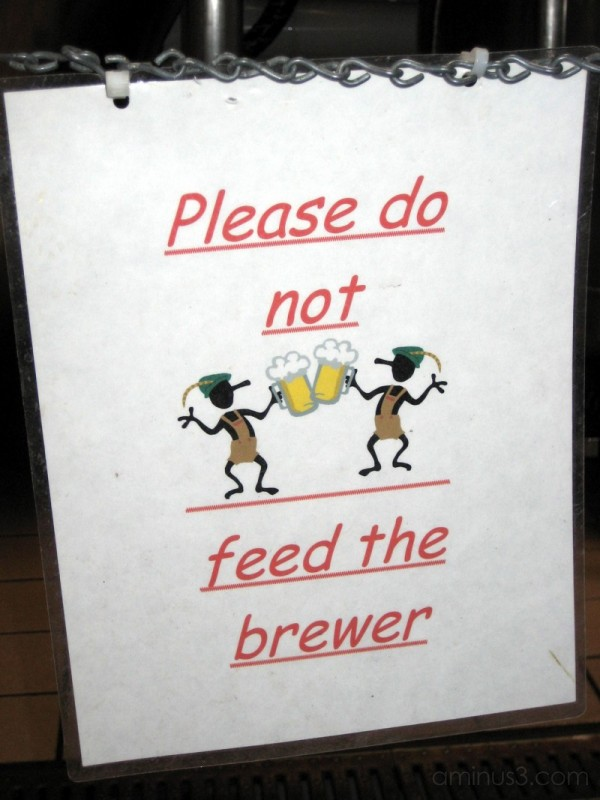 sign at Buffalo Bill's