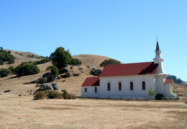 St. Mary's Church in Nicasio