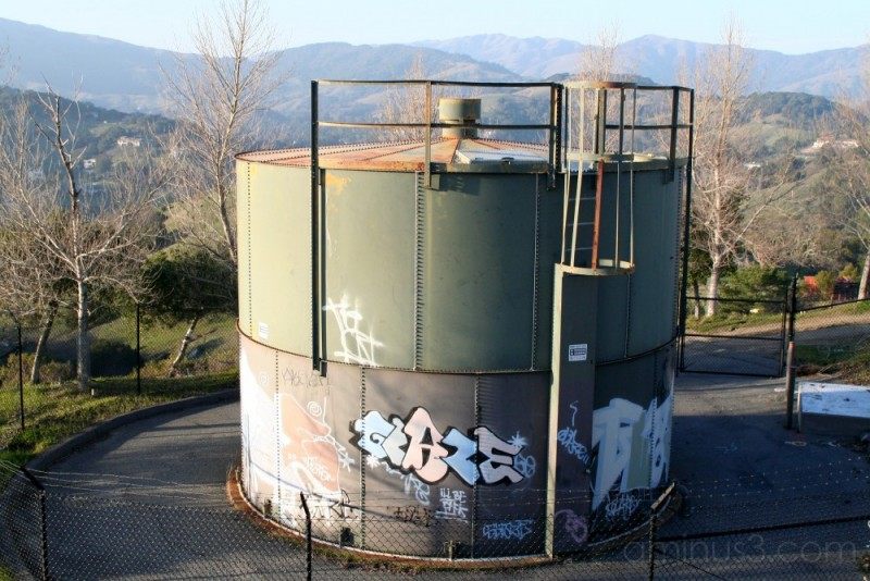 Water tower in Sorich Park