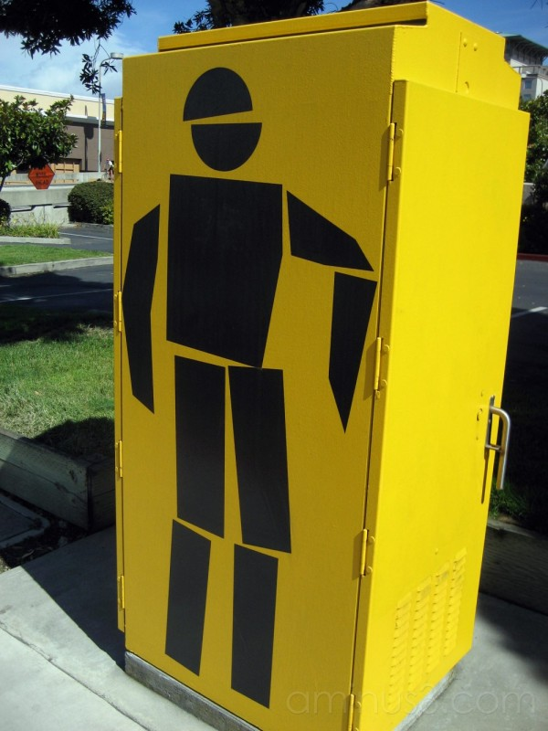 Traffic Signal Box in Emeryville