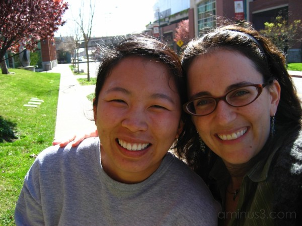 Seng and me on our lunch break in Emeryville